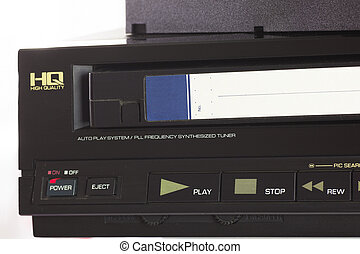 Cassettes and Player - Old VHS Video Cassettes and Old Video...