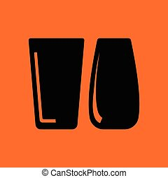 Two glasses icon