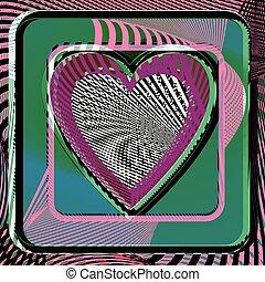 Abstract Heart illustration - Abstract Heart vector...