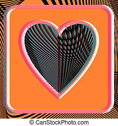 Abstract Heart illustration - Abstract Heart vector...