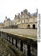 Palace Fontainebleau, ?le-de-France, France