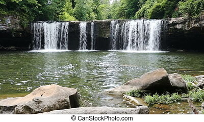 Summer and Ludlow Falls Loop - Loop features water plunging...