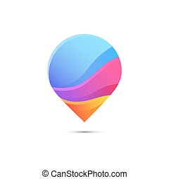 Creative abstract vector logo design template. Vector...