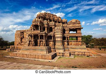 Sasbahu temple in Gwalior fort - Sasbahu (Sas-Bshu ka...