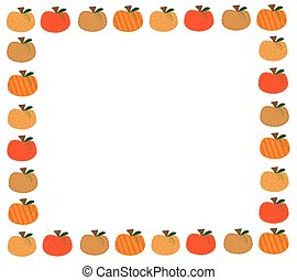 Pumpkin Border