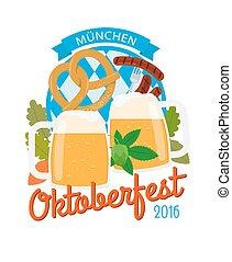 Oktoberfest 2016 vertical poster