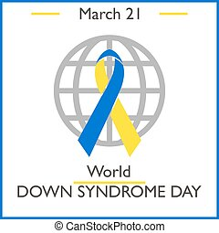 World Down Syndrome Day March 21 Vector illustration for you...