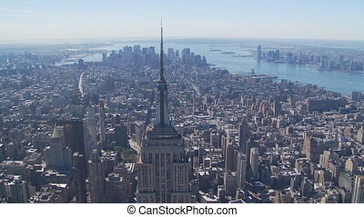 heli flight around empire state building part IV - heli...