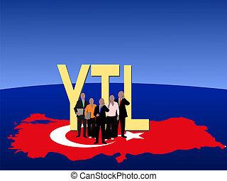 Turkish business team