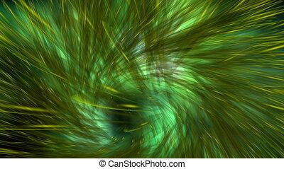 Digital Animation of a mystic Swirl