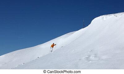 falling skier part II