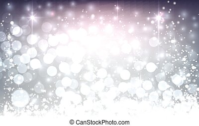 Violet luminous background. Vector illustration.