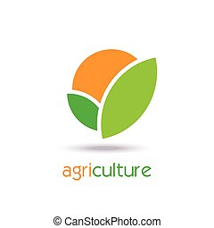 Agriculture Logo Template Design. Icon, Sign or Symbol....