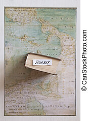 Jorney. Map created by Claude Bernou, published in 1681. -...