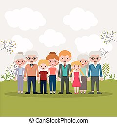 Mother father daughter son and grandparents designs - Mother...