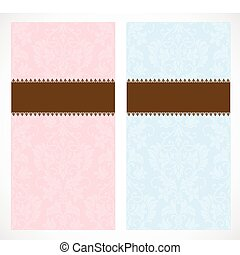 Vector Frame and Pattern Set