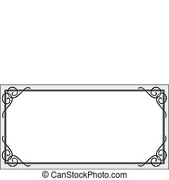Vector Certificate Frame - Frame illustration. Perfect for...