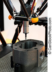parallel coordinate measuring machine - Close up of parallel...