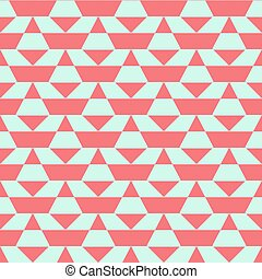 Pastel color blocked pattern