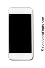 Smart phone isolated on white