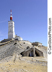 Holy Cross Chapel located on top of Mount Ventoux
