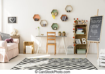 Creating a good space for child development - Bright and...