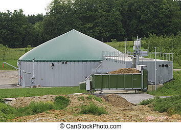 Biogas production - Plant for ecological biogas production