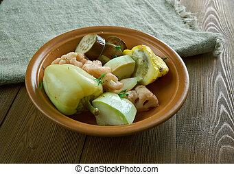 Iranian, Afghan pickled vegetables - Torshi - Iranian,...