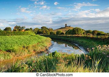 Burrow Mump in Somerset