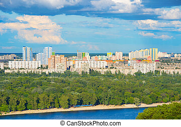 Kiev cityscape, Ukraine - Architecture of Kiev - the capita...