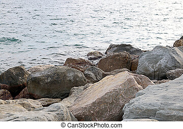 flowing water and rocks - clean clear flowing water and wild...