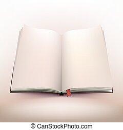 Open Notebook 3d Design