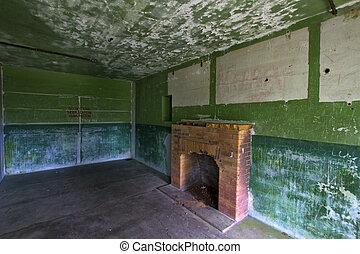 Old Militray Bunker Living Quarter