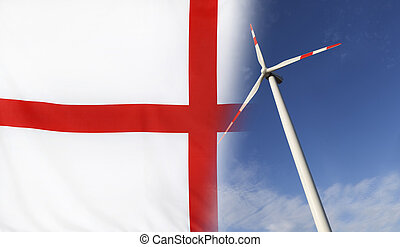 Concept Clean Energy in England - Concept clean energy with...