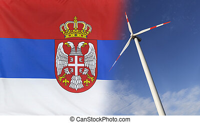 Concept Clean Energy in Serbia - Concept clean energy with...