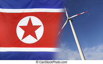 Concept Clean Energy in North Korea - Concept clean energy...