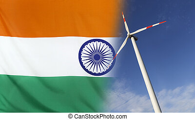 Concept Clean Energy in India - Concept clean energy with...