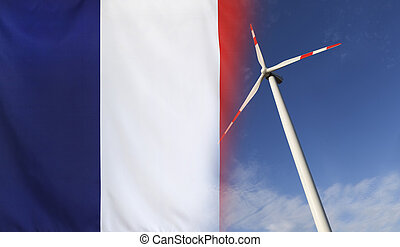 Concept Clean Energy in France - Concept clean energy with...