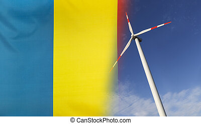 Concept Clean Energy in Romania - Concept clean energy with...