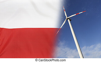 Concept Clean Energy in Poland - Concept clean energy with...