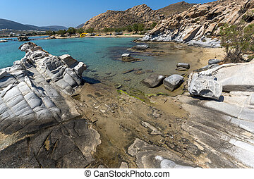 kolymbithres beach, Paros island - Clean Waters of...