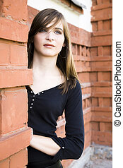 Beautiful Teenager Portrait - Beautiful Teenager Lady...