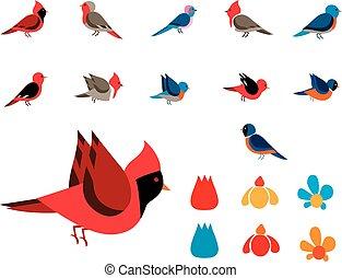 clip images birds
