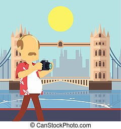 guy tour walking tower bridge london