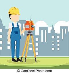 builder surveyor in city