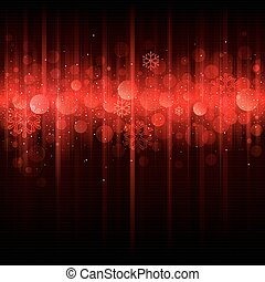 Red Holiday Background.