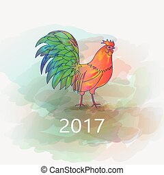 Chinese New Year of the Rooster - 100 Vector Chinese New...