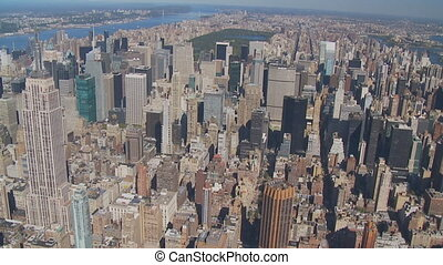 heli flight around empire state building part I - heli...