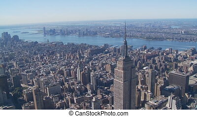 heli flight around empire state building part III - heli...