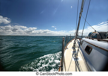 Smooth sailing - Calm waters and smooth sailing